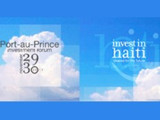 Haiti - Economy : International investment conference in Haiti