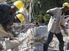 Haiti - Reconstruction : 2 years after, 50% of debris removed