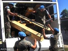 Haiti - Economy : The Minustah provides work to our artisans cabinetmakers Haitians