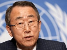 Haiti - Politic : Ban Ki Moon concerned by the resignation of Conille