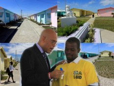 Haiti - Reconstruction : Delivery of keys of project of 400 houses in Zoranje