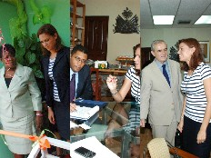 Haiti - Tourism : The Minister of Tourism discusses finances with BRH and the World Bank