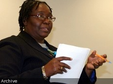 Haiti - Social : Colette Lespinasse, distinguished for its commitment
