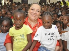 Haïti - Social : Bilan positif de Sophia Martelly