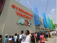Haiti - Reconstruction : Official reopening of the Gymnasium Vincent