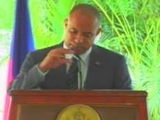 Haiti - Politic : Extracts from the inauguration speech of Laurent Lamothe (UPDATE AUDIO)