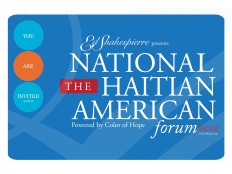 Haiti - Diaspora Florida : 3rd annual National Haitian American Forum