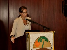 Haiti - Tourism : Stéphanie promotes Haiti to the «Caribbean Week»