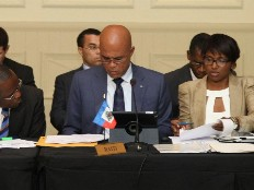Martelly exige des bénéfices palpables pour Haïti.