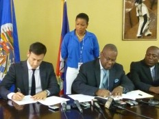 Haiti - Security : OAS and Haiti sign a cooperation agreement