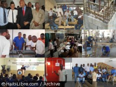 Haiti - Education : Nearly 200 graduates in construction trades