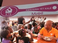 Haiti - Social : Launching of the Cafeteria «Tèt Kale» on 4th Avenue Bolosse