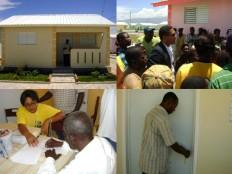 Haïti - Reconstruction : Le FAES distribue une trentaine de maisons à Zoranje