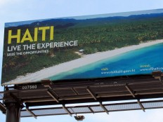 Haiti - Tourism : The beaches of Haiti on the highway I-95 in Miami
