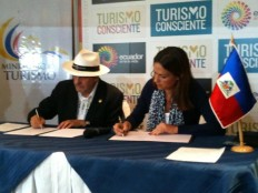 Haiti - Tourism : Signature of a cooperation agreement with Ecuador
