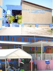 Haiti - Education : Inauguration of the National School of Anse-à-Veau