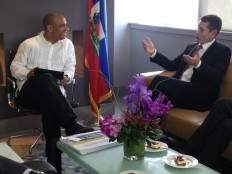 Haiti - Social : Laurent Lamothe met with Ivan Simonovic