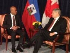 Haïti - Politique : Le Président Martelly a rencontré le Premier Ministre Harper