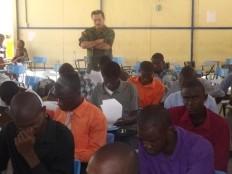 Haiti - Security : Haitian Students, in the Ecuadorian military schools
