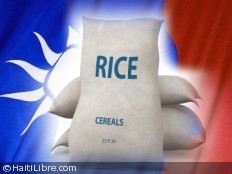 Haiti - Humanitarian : Taiwan donates 110 containers of rice to the people of Haiti