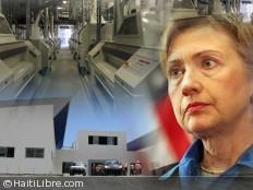 Haïti - Économie : Hillary Clinton en Haïti