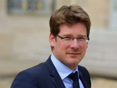 Haiti - Diplomacy : The French Minister Pascal Canfin, visiting Haiti