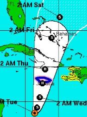 Haïti - Environnement : Sandy, Haïti en vigilance orange