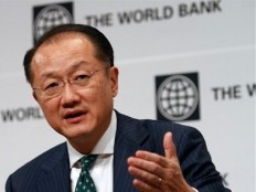 Haiti - Reconstruction : Visit of Jim Yong Kim, President of the World Bank Group
