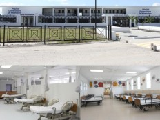 Inauguration of the University Hospital of Mirebalais