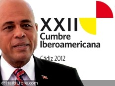 Haiti - Diplomacy : European tour of President Martelly