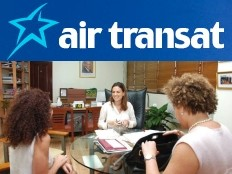 Positive exploratory visit, of Air Transat
