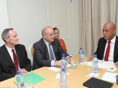 Haïti - Canada : Rencontre Martelly-Fantino, vers le renforcement de la coopération