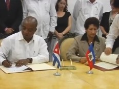 Haiti - Reconstruction : Intensification of the cooperation Cuba-Haiti
