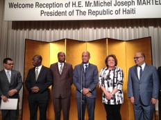 Haiti - Diplomacy : After NY, the President Martelly is arrived in Japan (UPDATE)