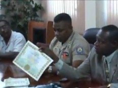 Haiti - Justice : Dismantling of a network of counterfeiters, 24 arrests