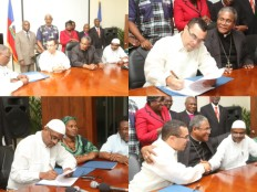 Haiti - CEP : An agreement was finally signed between the Executive and Parliament !