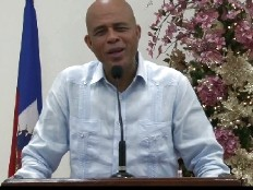 Haiti - Social : Wishes of President Michel Martelly