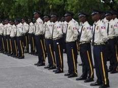 Haiti - Security : The PNH now has more than 10,000 agents