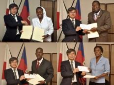 Haïti - Reconstruction : Le Japon finance 4 nouveaux projets