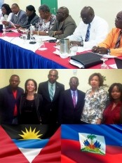 Haiti - Politic : Mario Dupuy in Antigua for the monitoring of agreements...
