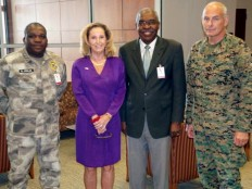 Haiti - Security : Visit of SOUTHCOM Commander General John Kelly