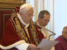 Haiti - Religion : Pope Benedict XVI will resign Feb. 28