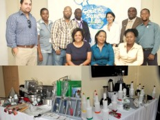 Haiti - Tourism : Donation of equipment to the Hotel School of Haiti