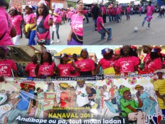 Haiti - Social : People with disabilities participated in Carnival
