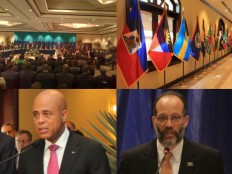 Haiti - Politic : First day of the 24th Meeting of the CARICOM