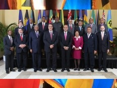 Haiti - Politic : Second day of the 24th Meeting of the CARICOM