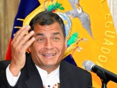 Haiti - Diplomacy : The President Martelly congratulates Rafael Correa Delgado for his reelection