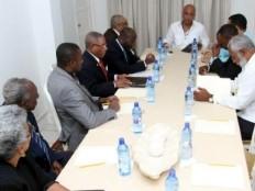 Haïti - Politique : Importante réunion au Palais National  - Exécutif / CSPJ