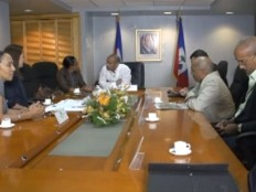 Haiti - Economy : Laurent Lamothe talks about the creation of 6,000 jobs in Ouanaminthe