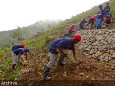 Haiti – Environment : A green barrier of 500 hectares at Morne l'Hôpital